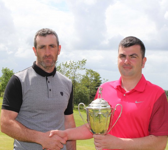 2015 Champion Stuart Angus with Vice Captain John Renwick